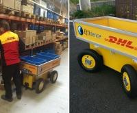 Darbas DHL sandėlyje Anglijoje